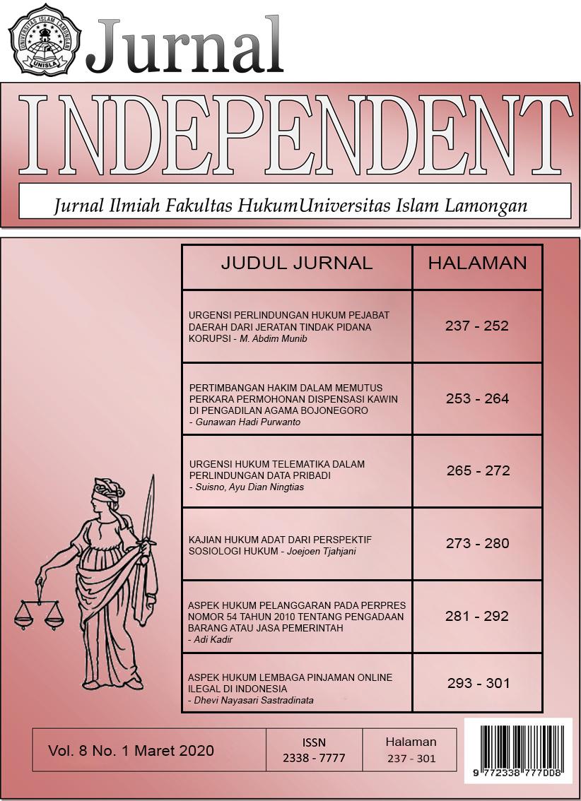Jurnal Independent